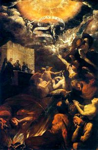 Giovanni Battista Crespi - St. Gregory delivers the soul of monk